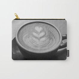 Cappuccino Heart Carry-All Pouch