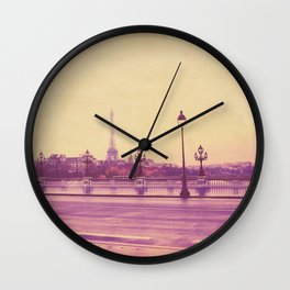 Paris, Glad to See You Again. Wall Clock