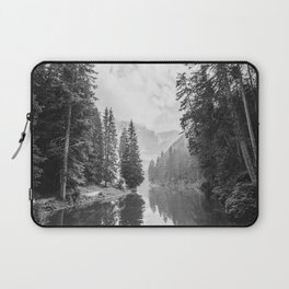 The Perfect View (Black and White) Laptop Sleeve