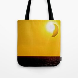 Abstract Kite Surfing With The Sun Tote Bag