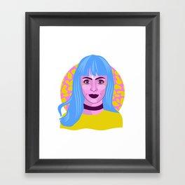 // MOON-DROP // Framed Art Print
