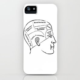 Human mind iPhone Case
