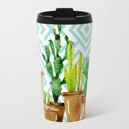 Cactus still life Travel Mug