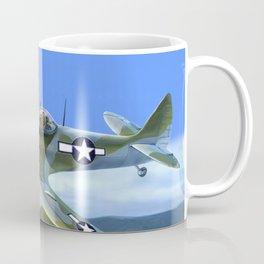 Spitfire Soars Over Hawaii Coffee Mug