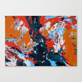 Abstract artistic painting Canvas Print