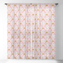 trot cat Sheer Curtain