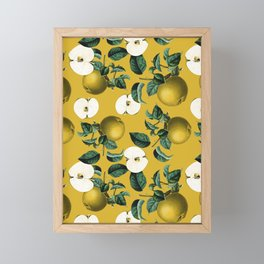 Vintage Fruit Pattern III Framed Mini Art Print