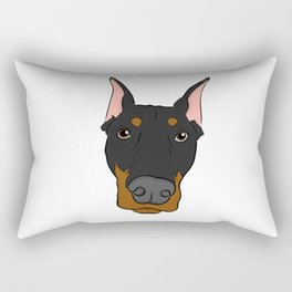 Doberman Rectangular Pillow