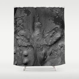Ashes of Renewal by Keith Laney Shower Curtain