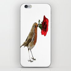 Bird & Rose iPhone & iPod Skin