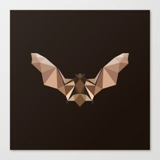 Brown PolyBat  Canvas Print