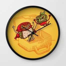 Lunchadores Wall Clock