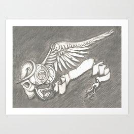 Horroroscopo Aries Art Print