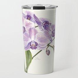 Purple phalaenopsis artwork Travel Mug