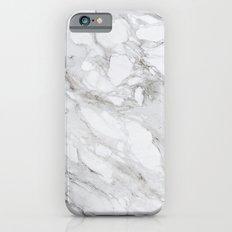 White Marble 01 iPhone 6s Slim Case