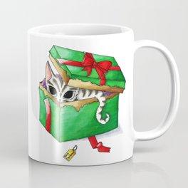 Kitten present box Coffee Mug