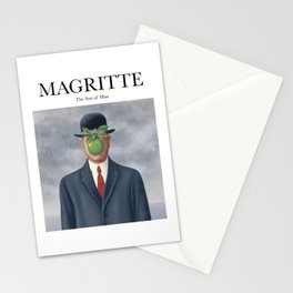 Magritte - The Son of Man Stationery Cards