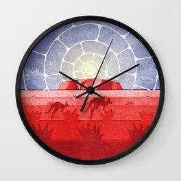 Uluru Wall Clock