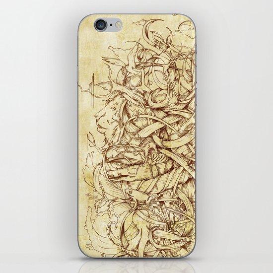 Water,Earth & Air iPhone & iPod Skin