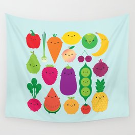 5 A Day Wall Tapestry