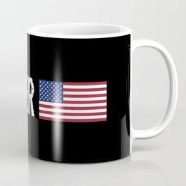 Welder: American Flag Coffee Mug