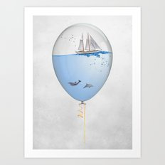 SEALOON Art Print