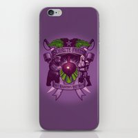 battlestar iPhone & iPod Skins featuring Bears, Beets, Battlestar Galactica by Leon Ryan