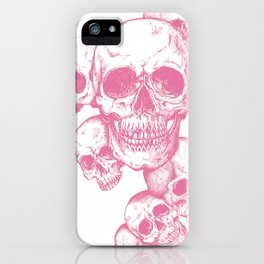 The dead's heads iPhone Case