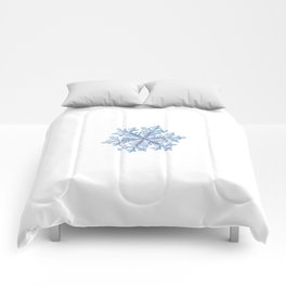 Real snowflake - Hyperion white Comforters