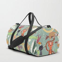 Rain forest animals 001 Duffle Bag
