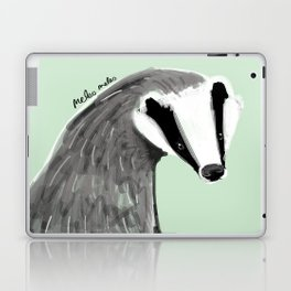 Adorable Badger ( Meles meles ) Laptop & iPad Skin