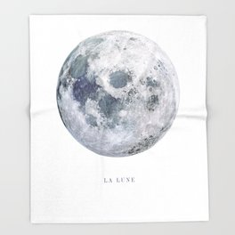 La Lune Throw Blanket