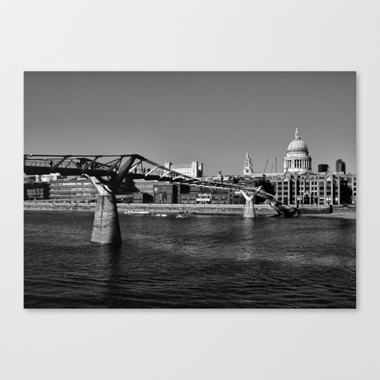 Views To St. Pauls Canvas Print