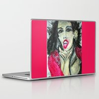 mia wallace Laptop & iPad Skins featuring MIA  by JANUARY FROST