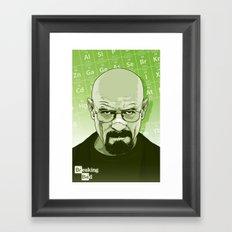 Breaking Bad - Walt Framed Art Print