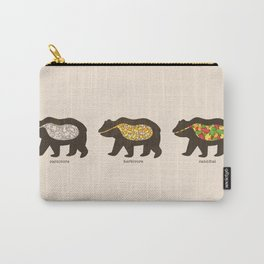 The Eating Habits of Bears Carry-All Pouch