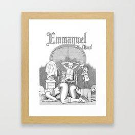 Eloge de la passion impure (Praise of the impure passion) Framed Art Print