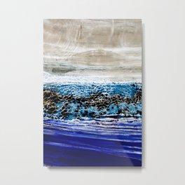 ...blurred line of horizons Metal Print