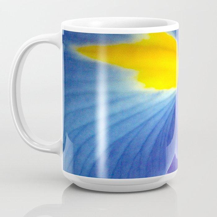 Blue Iris, 2012 Coffee Mug