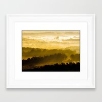 virginia Framed Art Prints featuring Virginia by Mario Morgado