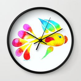 Miss Fish Wall Clock