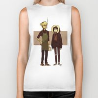 durarara Biker Tanks featuring Kids These Days by rhymewithrachel