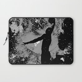 SLAM DUNK IN BLACK AND WHITE Laptop Sleeve