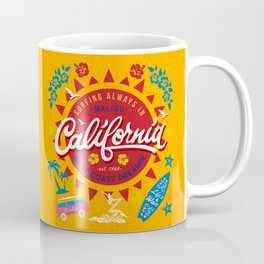 California West Coast Dreamin Coffee Mug