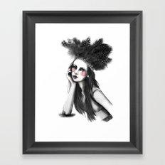 Show Girl Framed Art Print