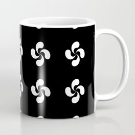 Lauburu 5 - croix basque -turbine,helice, cross. Coffee Mug