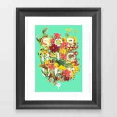 Flora Tropical. Framed Art Print