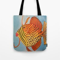 jay z Tote Bags featuring Jay Z by Caribbean Critters Co.