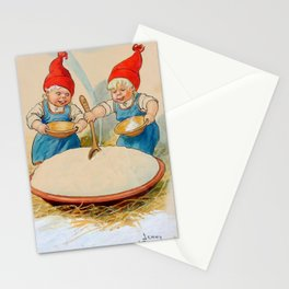 """""""The Pudding Bowl"""" by Jenny Nystrom Stationery Cards"""