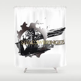 Become the Warrior of Darkness - FFXIV Shower Curtain